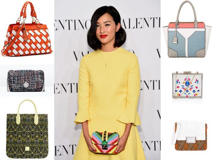 Le borse colorate della primavera-estate 2015
