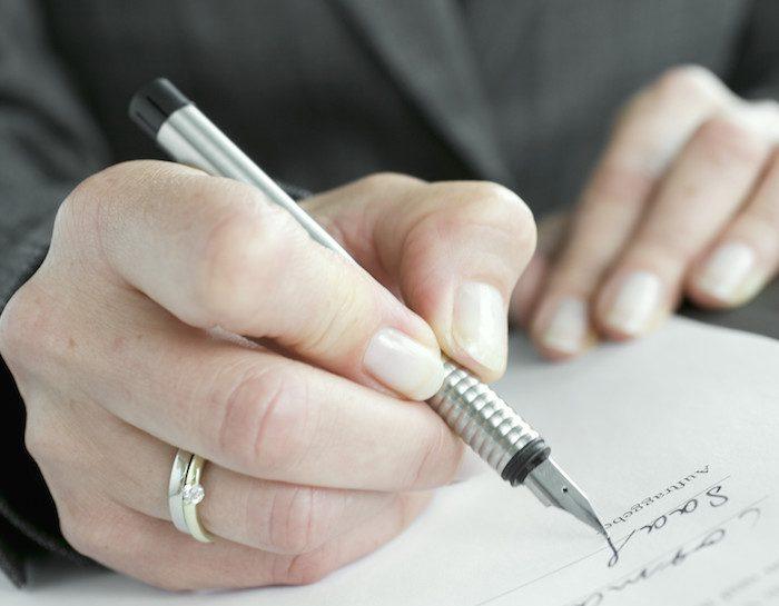 Partendo dalle basi: la lettera di dimissioni