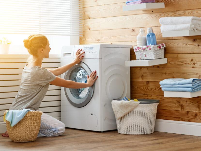 Bucato in lavatrice senza detersivo