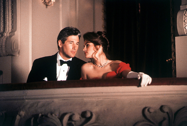 Richard Gere e Julia Roberts in Pretty Woman