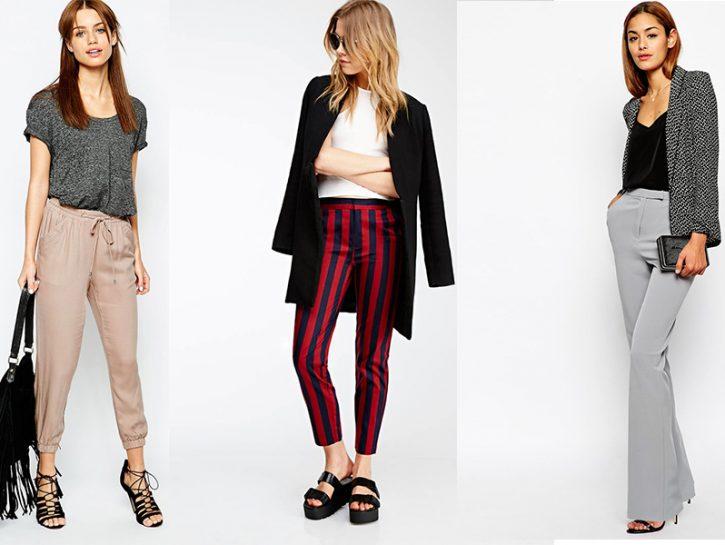 Pantaloni: i modelli giusti in base alla silhouette