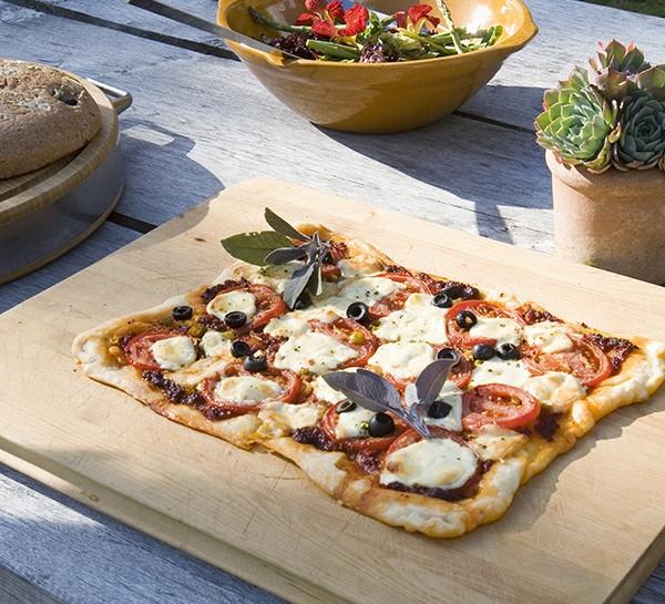 La pizza al microonde