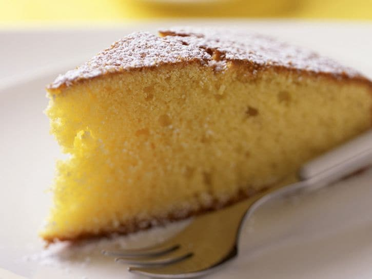 La torta margherita al microonde