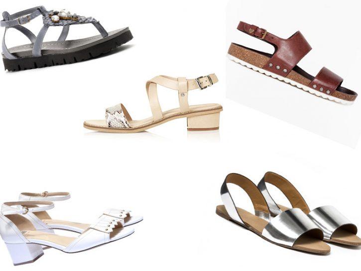 Sandali: i modelli comodi e glam