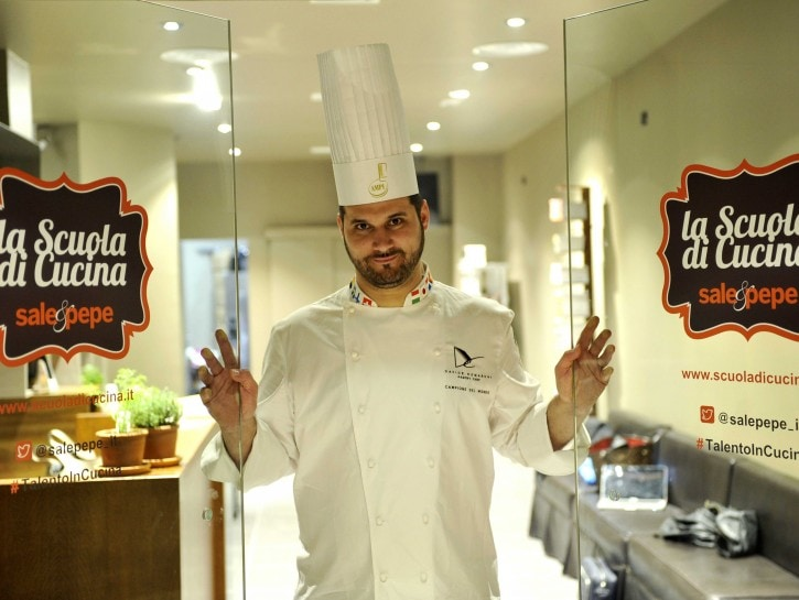 Scuola di Cucina Sale&Pepe Davide Comaschi