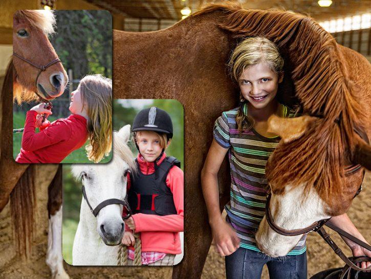 Montare un cavallo sollecita e allena i muscoli e per questo richiede resistenza fisica ma questa è