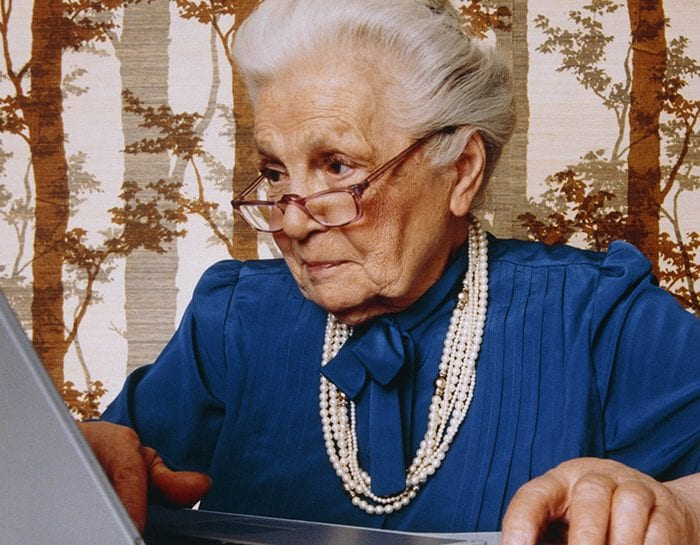 La carica dei nonni social