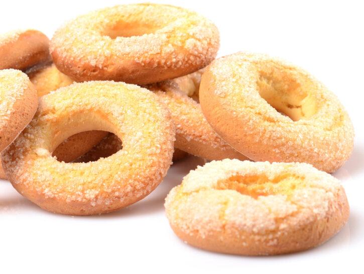Biscotti di pasta frolla con farina di mais - Credits: Olycom