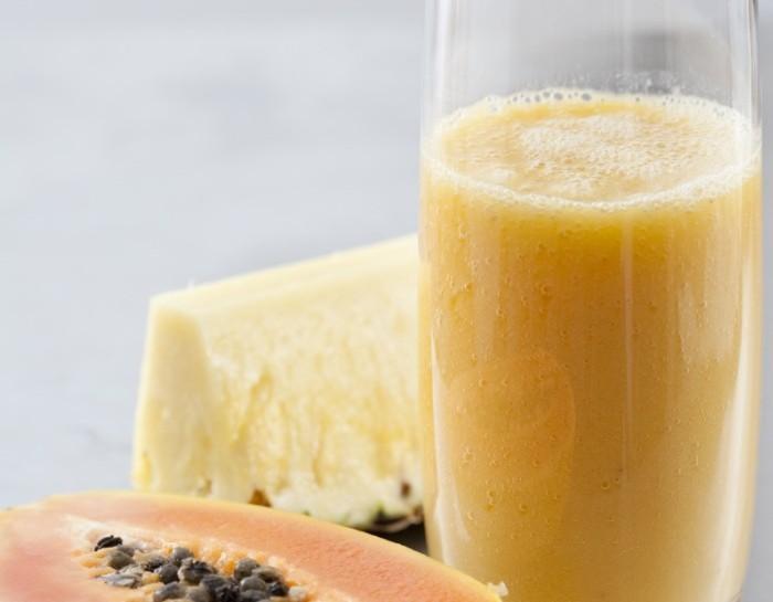 Gusta il frullato alla papaya