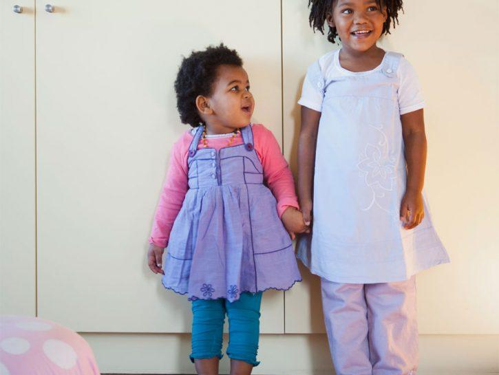 Due sorelline e uno spazio da condividere