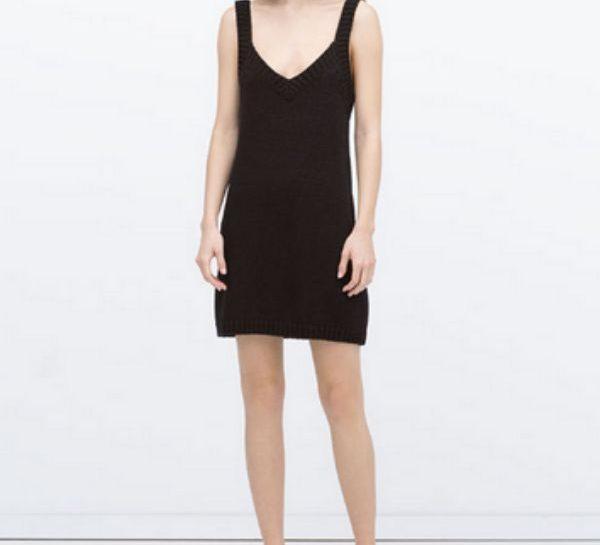 Vestito nero Zara