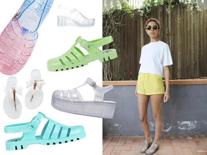 Scopri la moda delle jelly shoes