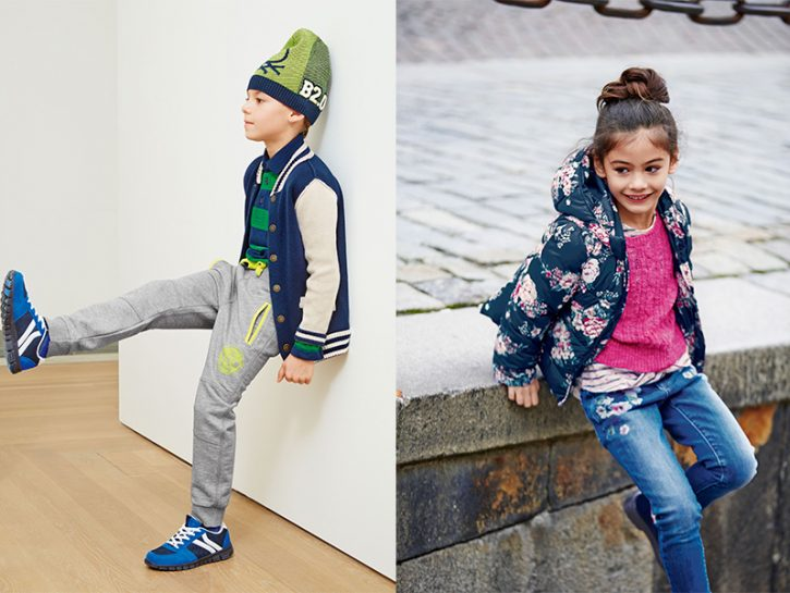 "Moda bambino: il ""back to school"" firmato Benetton"