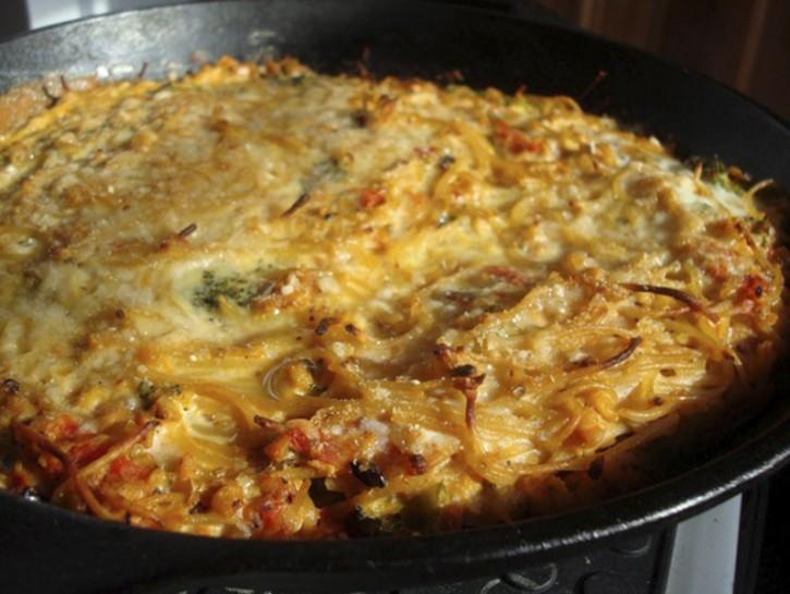 come fare la frittata di pasta