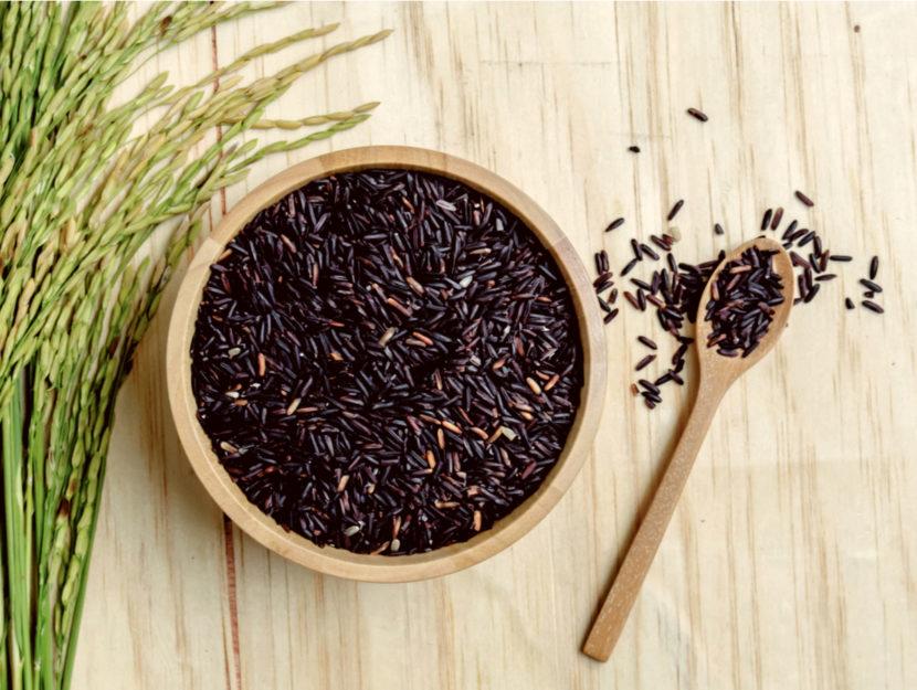Gli usi beauty del riso venere