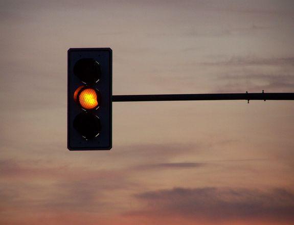 semaforo giallo