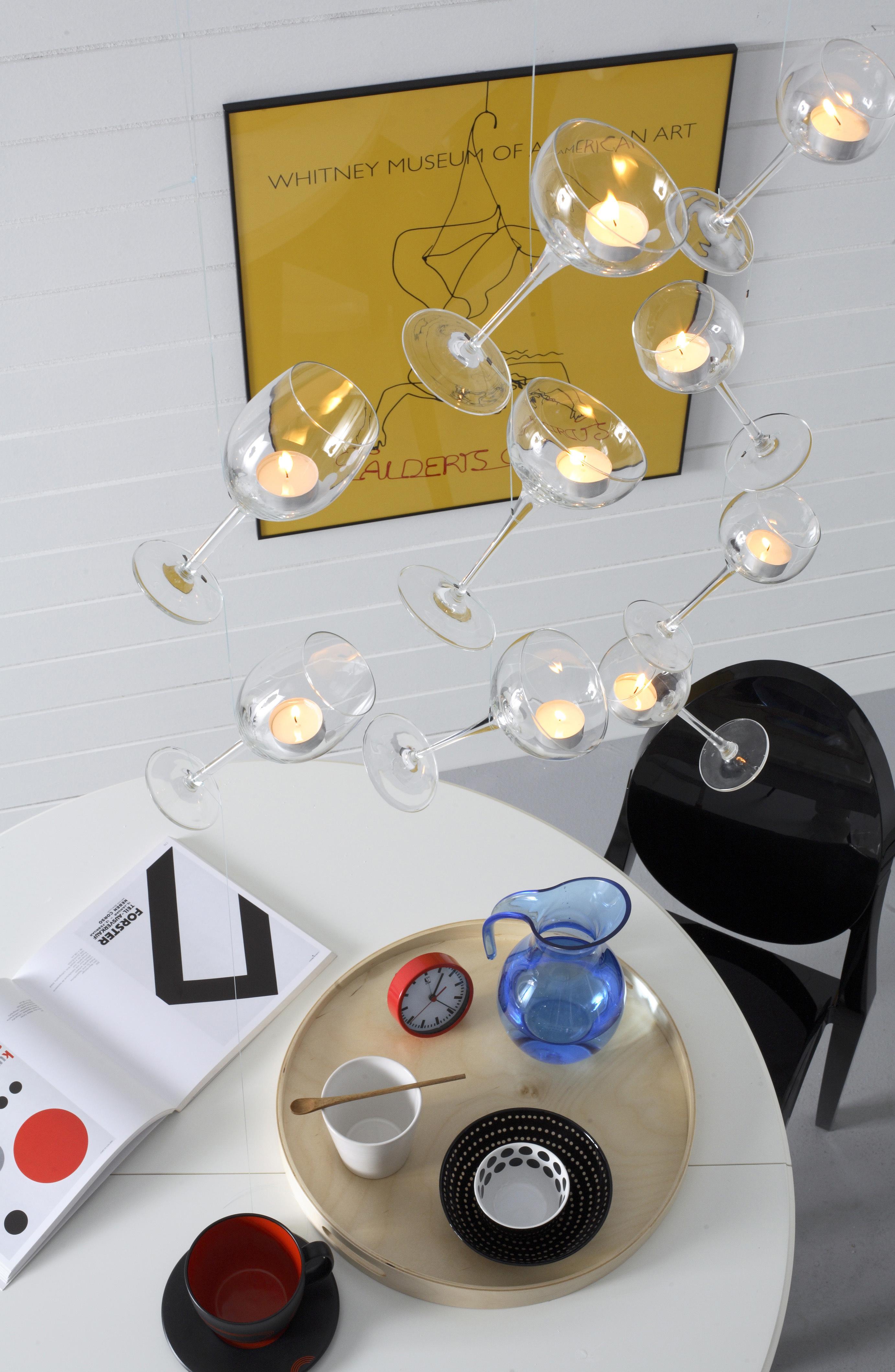 bricolage porta candele fai da te creativo donna moderna