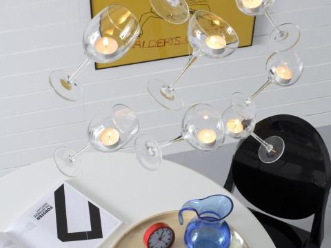 Bricolage: porta candele fai da te creativo