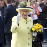 La Regina Elisabetta in pastello