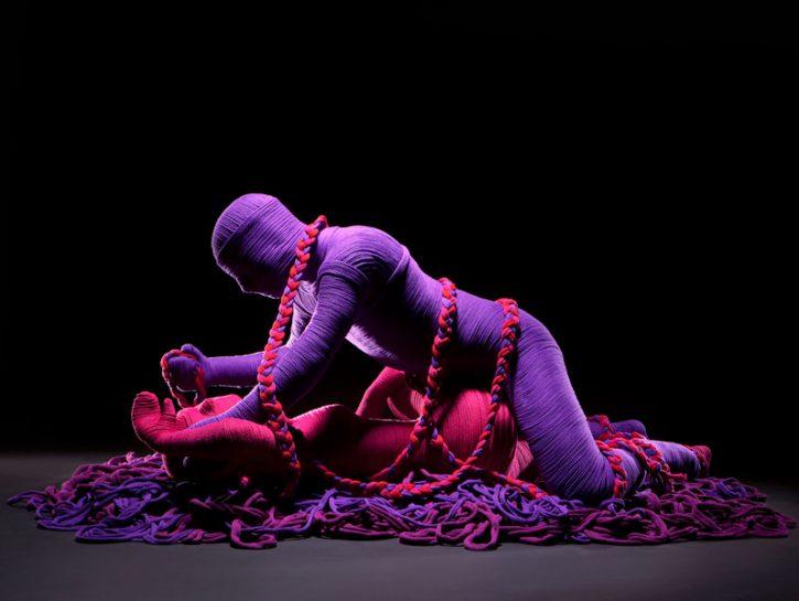Il Kamasutra con la lana: posizione dell'unione dello stormo
