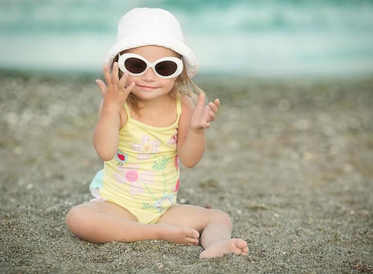 Abbronzatura bambini, come comportarsi
