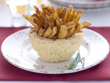 Ciotoline di sale con patate piccanti