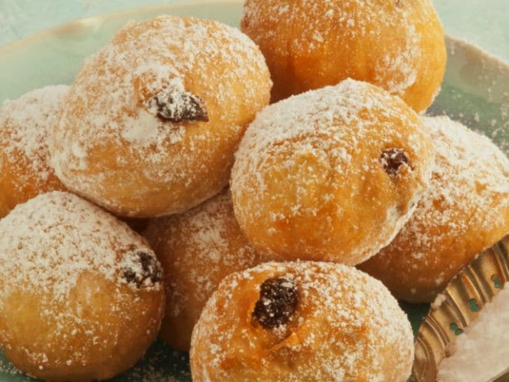 Dolci con lievito madre: le frittelle