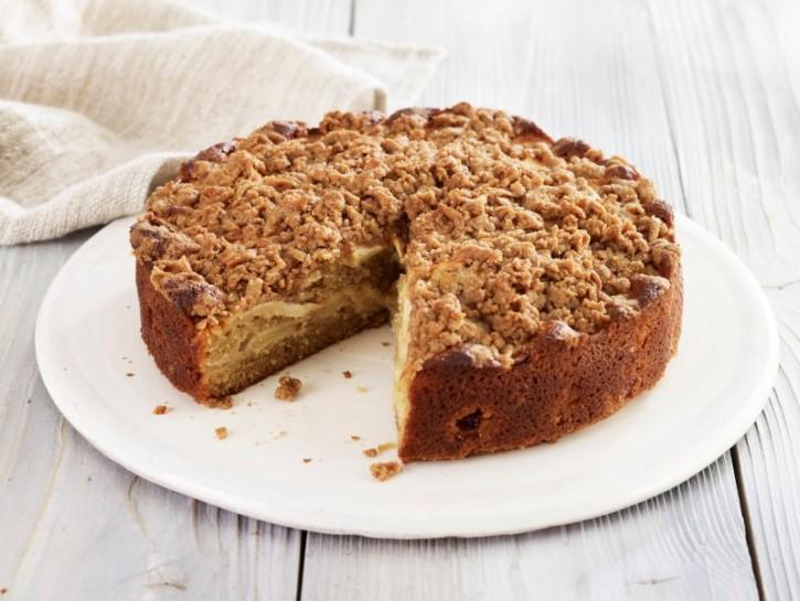Farina di segale: la torta di mele