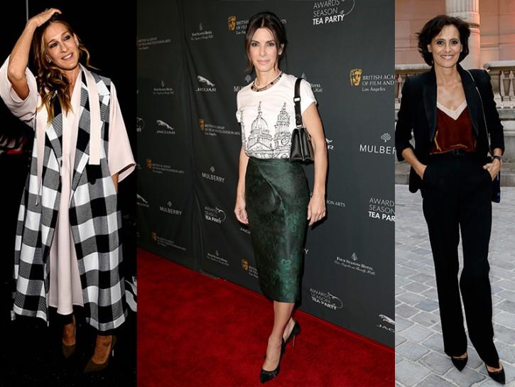 new style 8ea3d df248 Come vestirsi a cinquant'anni: i look eleganti delle star da ...