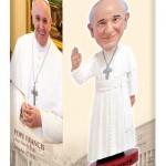 Papa Francesco Royal Bobbles