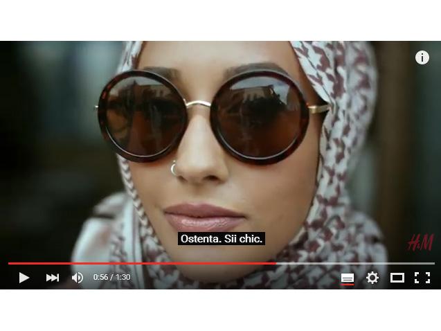 Mariah Idrissi, modella con il velo
