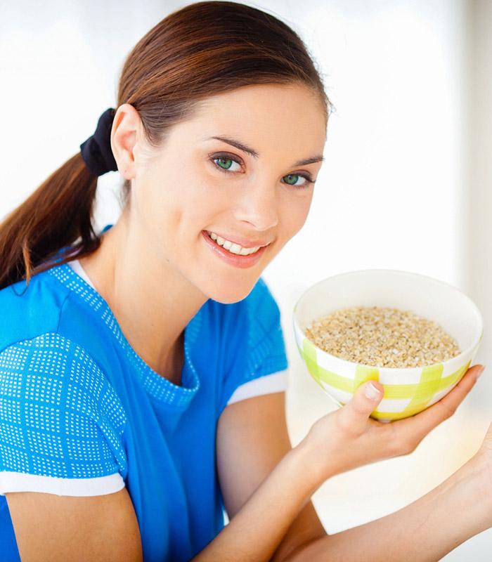 Cereali in tavola