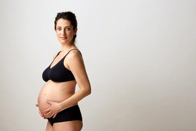 Donna incinta pancione