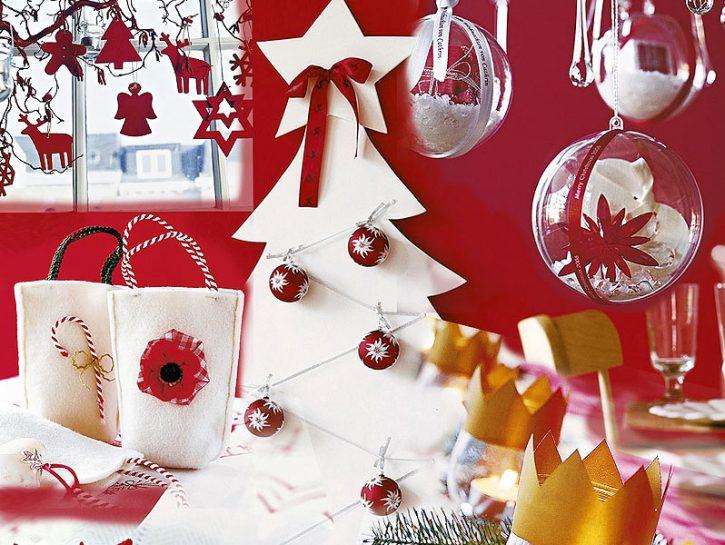 cover decorazioni rosso
