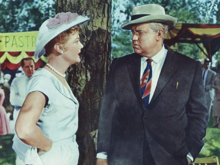 Angela Lansbury e Orson Welles,