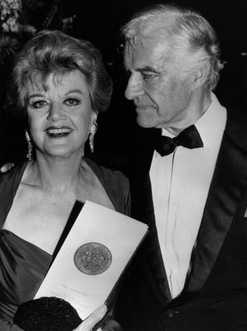 Angela Lansbury e Peter Shaw