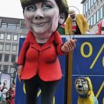 Angela Merkel, caricatura