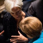 Angela Merkel e Christine Lagarde
