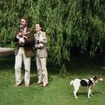 Audrey Hepburn e Robert Wolders
