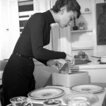 Audrey Hepburn in cucina