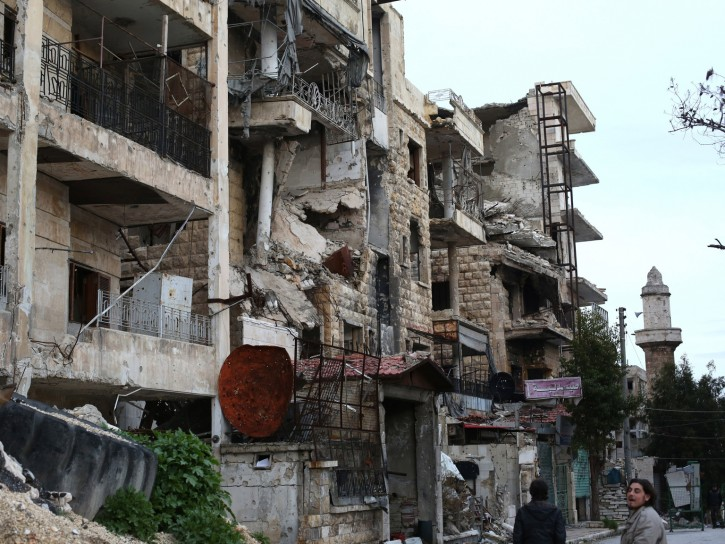 Damasco bombardata