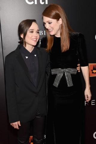 Ellen Page e Julianne Moore