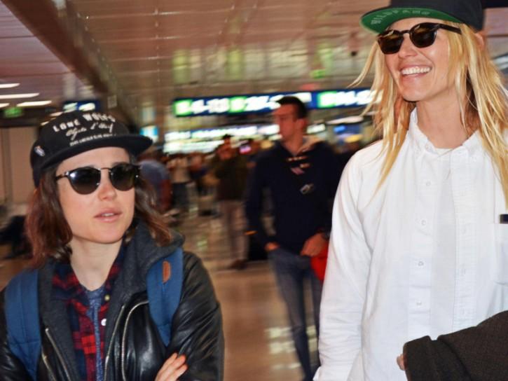 Ellen Page e Samantha Thomas