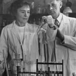 Gerty Cori e il marito Carl Cori, Nobel per la medicina 1947