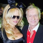 Hugh Hefner e Pamela Anderson