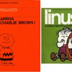 Il libro Arriva Charlie Brown prima pubblicazione dedicata ai Peanuts da Milano Libri alta
