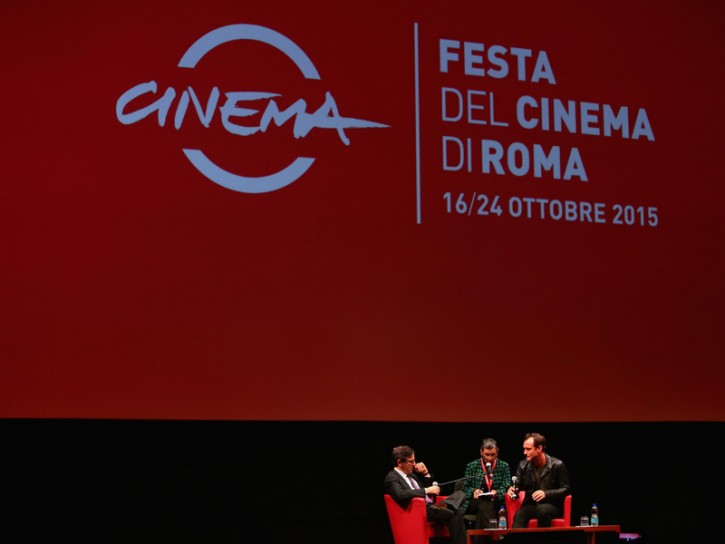 Jude Law alla Festa del Cinema di Roma 2015