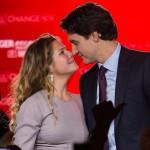Justin Trudeau e Sophie Gregoire