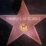 La stella dedicata a Charles CHulz sulla Walk of fame di Hollywood copia alta