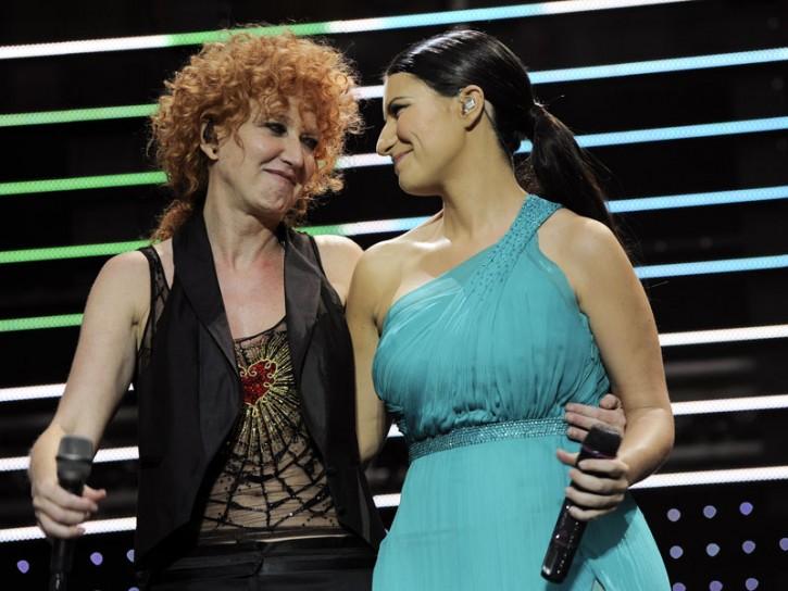 Laura Pausini Fiorella Mannoia 2009